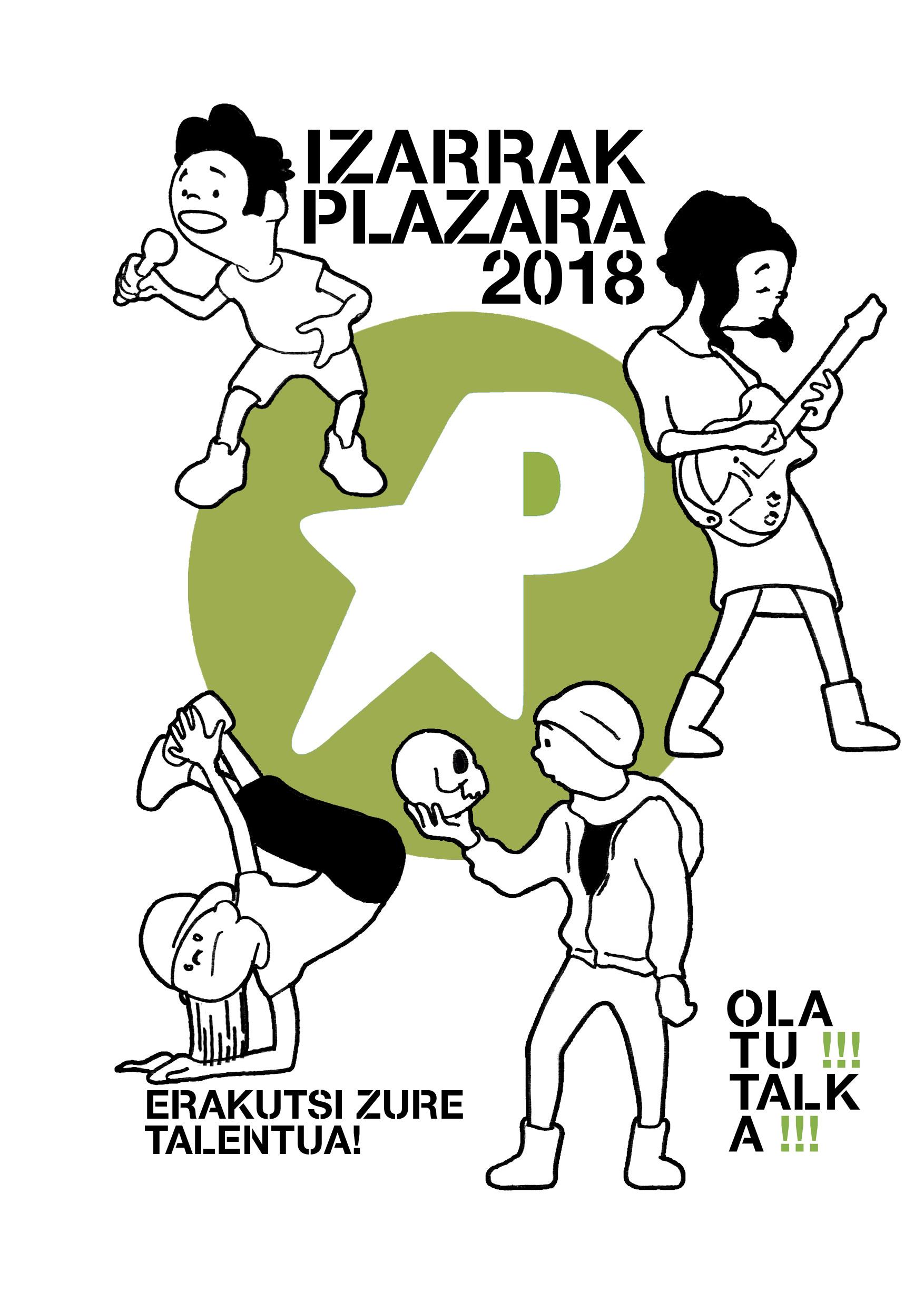 2018 izarrak plazara