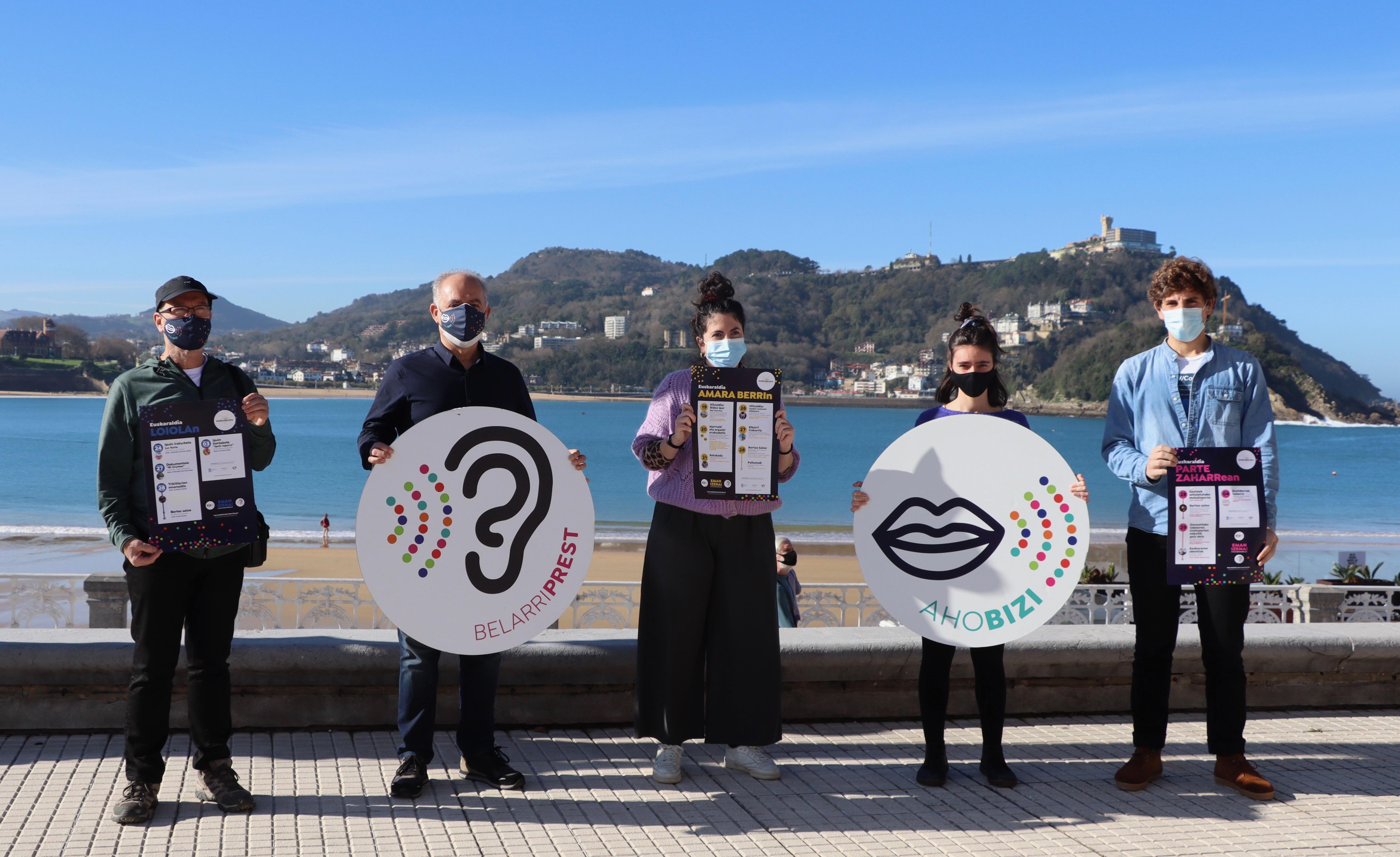 Euskaraldiak iraun bitartean,  75 euskarazko kultur ekitaldi eskainiko dira Donostian