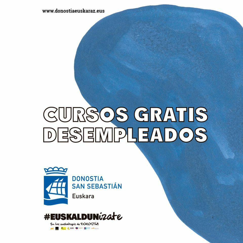 Cursos gratuitos de euskera para personas desempleadas